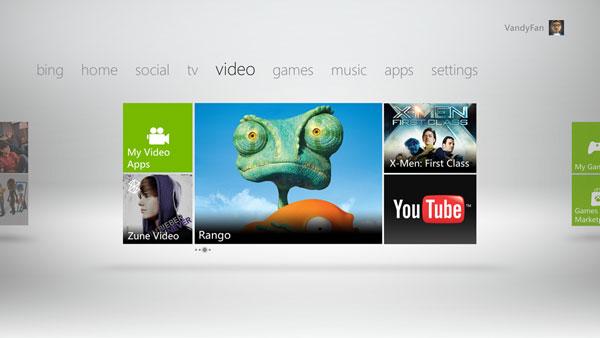 Xbox 360 - Pagina Video