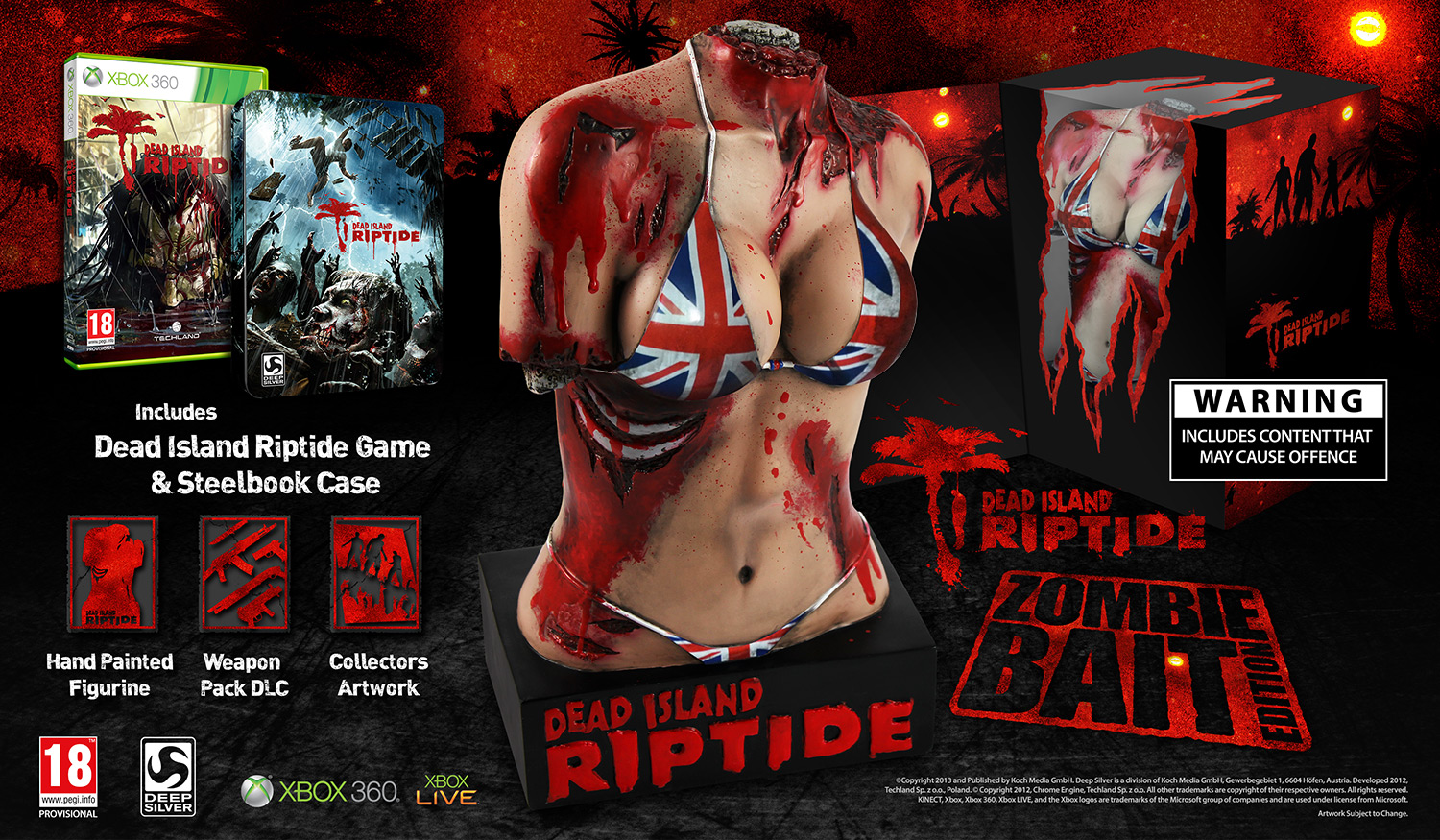 Dead Island Riptide Original Vs Definite