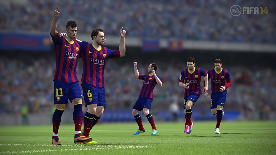 FIFA 14 - Barcellona