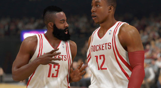 NBA 2K14 Shot