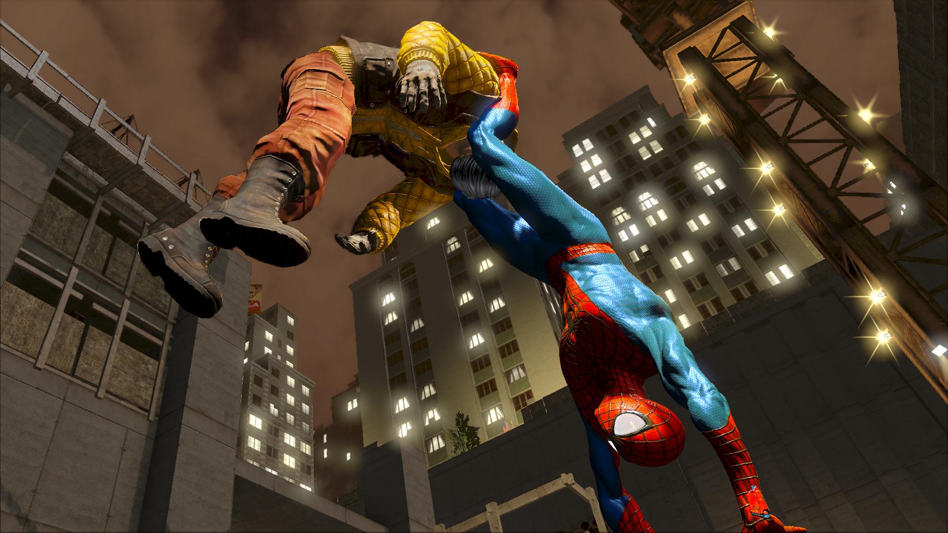 Скачать Spider-Man через торрент бесплатно для PS1